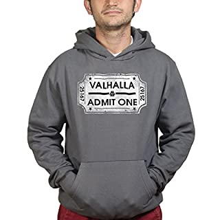 Ticket To Valhalla Vikings Norsk Kapuzenpullover