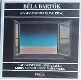 Sonates pour violon et piano : Transcription from pièces selected in For children Sz42. 1, N1 op21 Sz75. 2, N2 Sz76. Hugarian folksongs | Bartok, Bela