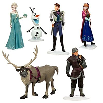 Disneys Frozen Figure Play Set by Disney por Disney