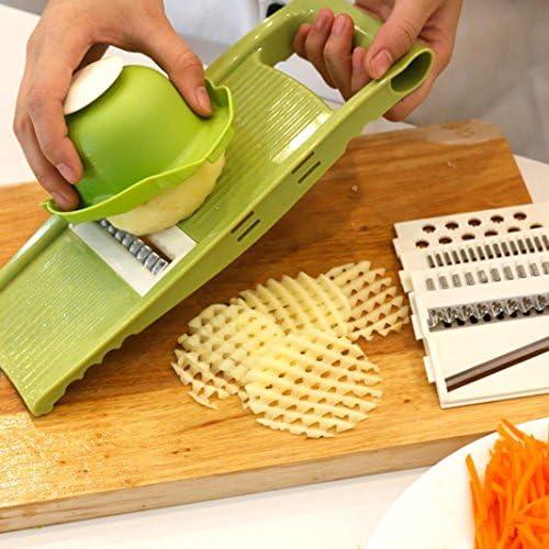 Ouneed® Trancheuse de de de Femmedoline Spirale Legumes - 5 Mode - Protection de Main (Vert) | à La Mode  9867cc