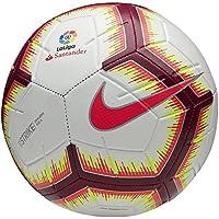 Nike Ll Nk Strk Fa18 Balón, Hombre, Blanco/Rosa (Flash) / Rojo (Team), S