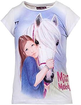 Mädchen Miss Melody Shirt, weiß
