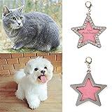 KESOTO Identificazione Animali ID Tag Cane Tag Identificazione Cani Nome Bricolage Indirizzo Telefono Star - #1