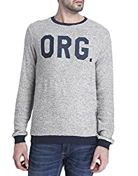 Jack & Jones Mens Casual Cardigan (__5713231831439_Light Grey Melange_X-Large_)
