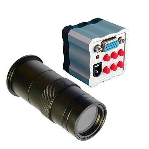 HD 2.0MP Digital Industrie Mikroskop Kamera Lupe VGA TV Video Ausgang für Lab PCB 100x Zoom...