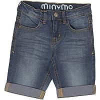 Minymo - Basic 11 - Malthe -Denim Shorts, Jeans per bambini e (Ragazzi Jean Shorts)