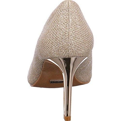 Buffalo H733-C002A-4P1855D, Scarpe col tacco donna Oro (glitter gold 01)
