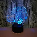 Novedad Modelo de coche 3D Night Light...