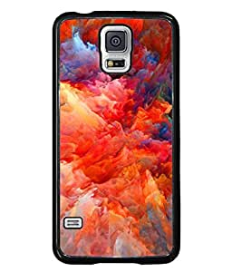 PrintVisa Designer Back Case Cover for Samsung Galaxy S5 Neo :: Samsung Galaxy S5 Neo G903F :: Samsung Galaxy S5 Neo G903W (Abstract Alien Art Concept Fractal Cosmos Creative Beautiful Creativity)