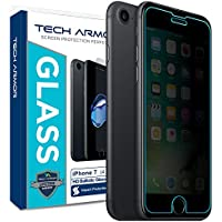 iPhone 7 Glass Screen Protector, Tech Armor Privacy Ballistic Glass Apple iPhone 7 (4.7-inch) Screen Protector [1]