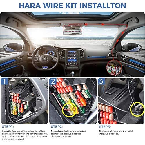 312,202 402G 101 y C/ámara DUOcar 412,312GW eSynic Kit de Cable Duro de Vehiculo Dash Cam Hardwire para Nextbase 512,512G 112,212 302G