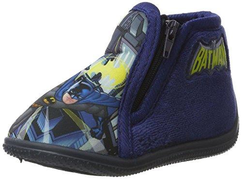 Herren Schuhe Batman (Batman Jungen Bat Bolby Pantoffeln, Blau (Navy), 24)