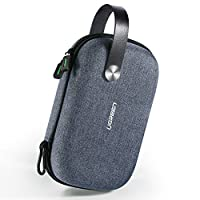 UGREEN Travel Case Gadget Bag Small Portable Electronics accessories Organiser Travel Carry Hard Case Cable Tidy Storage Box Pouch