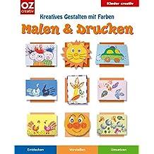 Malen & Drucken: Kreatives Gestalten mit Farben
