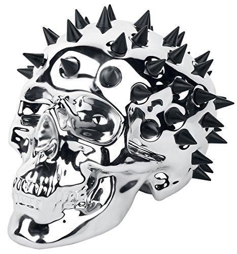 Skull Salvadanaio argento/cromato