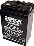 SUNCA 6v 4.5ah Sealed Lead-Acid Recharge...