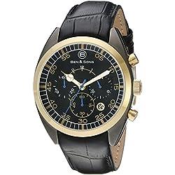 Ben & Sons-Herren-Armbanduhr-BS-10005-GM-GB-01