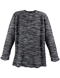 Lavecchia - Pull - Homme noir Anthracite