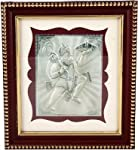 Square shaped Lord Hanuman Wooden photo frame with fine crafting with beautifull workmeship (Silver purity 999%) .Suitable for all kinds of occusions and for pooja and also for gifting purpose it can also be used as wall decor ,table piece,Showpiece ...