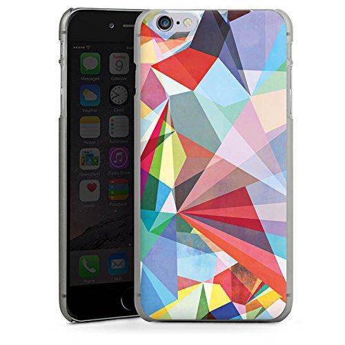 Apple iPhone 5s Housse Étui Protection Coque Cristal Arc-en-ciel couleurs CasDur anthracite clair