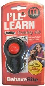 Mikki Training Clikka Training Aid (For Dog Clicker Training)