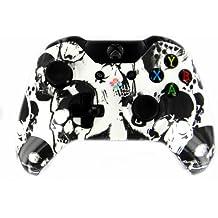 """Urban White Skulls"" Xbox ONE Custom UN-MODDED Controller Exclusive Design"