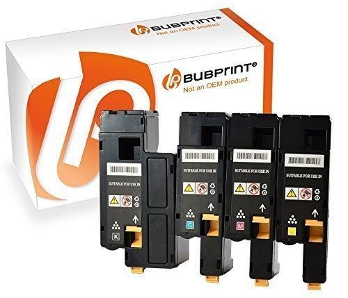 Bubprint 4 Toner kompatibel für Xerox Phaser 6000 6010 WC6015 SET