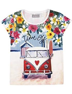Boboli Mädchen Stretch Knit T-Shirt For Girl