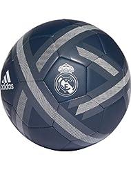 adidas - Pallone da Calcio da Uomo Real Madrid Onix/Bold Onix/White, 5