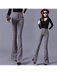 Amazon Donna Pantaloni L Abbigliamento it rRw60r
