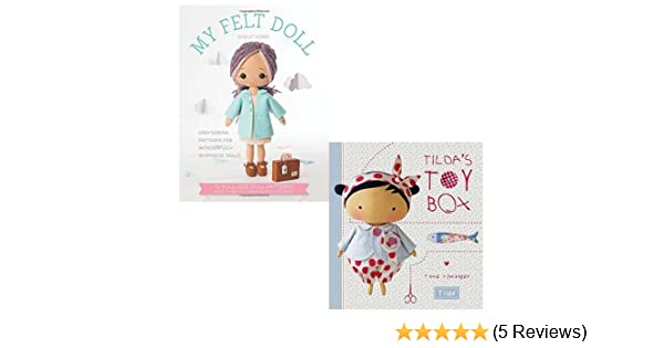 My Felt Doll and Tilda's Toy Box [Hardcover] 2 Books Bundle