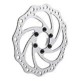 MagiDeal 1 Stück Fahrrad Mtb Rennrad Edelstahl Bremsscheiben Rotoren 160mm Mit 6 Schrauben