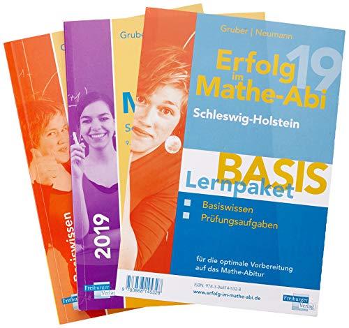 Erfolg im Mathe-Abi 2019 Lernpaket \'Basis\' Schleswig-Holstein