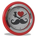 Archies Round Glass Wall Clock (25 cm x ...
