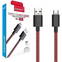 GameWill USB-C Câble , 10Ft/3M Tressé USB Type C- A USB Câble 2.0 avec charge 3A pour Nintendo Switch Console