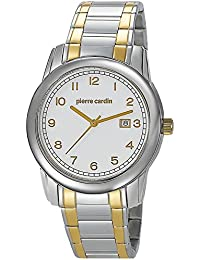 Pierre Cardin Herren-Armbanduhr Special Collection Analog Quarz Edelstahl