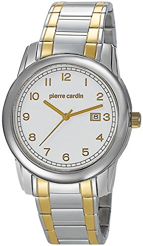Pierre Cardin Herren-Armbanduhr Special Collection Analog Quarz Edelstahl Swiss Made