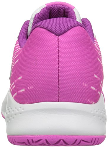 New Balance 696v3, Chaussures de Tennis Femme Multicolore (White/Pink)