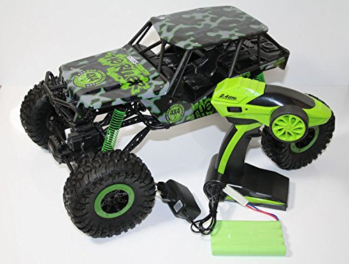 RC 2,4 Ghz Rock Crawler THE BEAST 4WD Allrad ferngesteuertes Auto fast 1/2 Meter lang