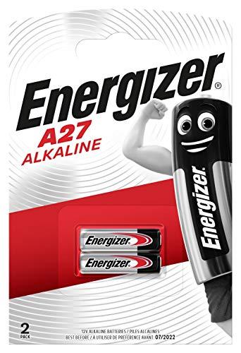 Energizer-Miniatur Alkali Spezialbatterie A27, 2 Stück -