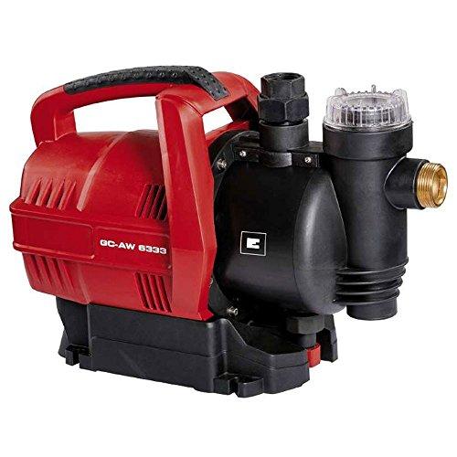 Einhell GC-AW 6333 Hauswasserautomat inklusive Vorfilter + Rückschlagventil + Trockenlaufschutz