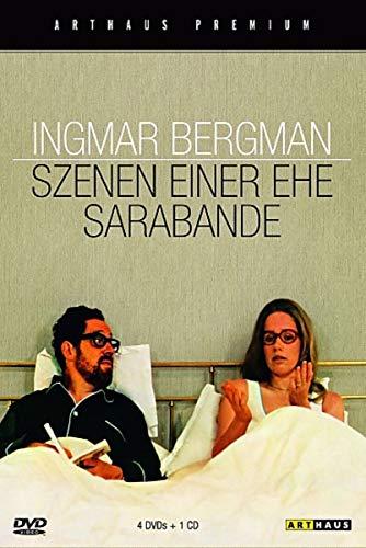 """Szenen einer Ehe / Sarabande - Arthaus Premium Edition incl. Hörspiel """"Fisch"""" (4 DVDs + Audio-CD)"""
