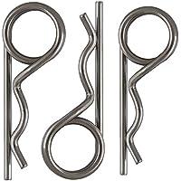 OPIOL QUALITY   Federstecker Edelstahl A2 3,20 x 48 (10 Stück)   Federsplinte   Federvorstecker   Steck-Splint   Federsplint