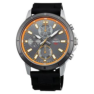 Orient Reloj Analógico para Hombre de Cuarzo con Correa en Caucho FUY03005A0