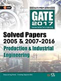 GATE Paper Production & Industrial Engineering 2017 (Solved Papers 2005 & 2007-2016)