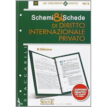 Schemi & Schede Di Diritto Internazionale Privato