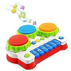 NextX Jouet Bébé Jouet Musical Instrument de Musique Pianos et Claviers pour Petits