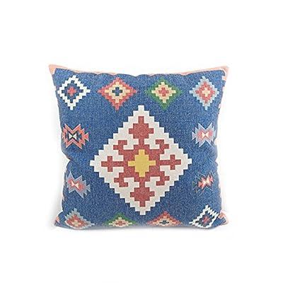 Navy Blue Vintage Kilim Cushion Cover Pillow Case
