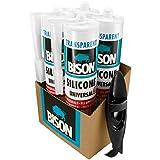 Mastic silicone Transparent Lot de 4+ Coque en silicone Outil de retrait