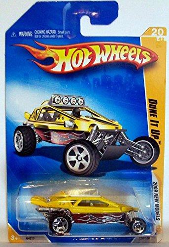 Mattel 2009 Hot Wheels 020/190 Dune It Up Yellow 1:64
